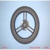 Stroller Wheel Rear